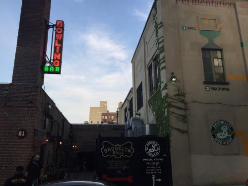 ブルックリン・ブリュワリーの本拠地。ボーリング場とバーを併設。4月に出たニュースでは、ここが約50億円で売りに出されたとのことで、今後の動向が気になる。