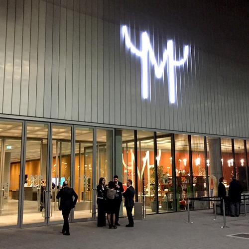 トルトーナ通り沿いにあるMudecでは、現在ジョアン・ミロ展を開催中