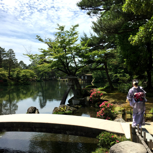 金沢で忘れてならない兼六園。前田家がおもてなしで利用していた